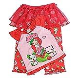 Strawberry Shortcake Girls Pet Friends Tutu Pajama Pants Set