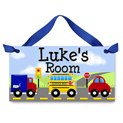 Toad And Lily VRoOM VroOm   Stop   Letu0027s Go   Boys Bedroom Baby Nursery Kids