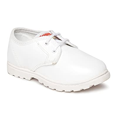 cd4437b1f63ce PARAGON Kid s White School Shoes  Buy Online at Low Prices in India -  Amazon.in