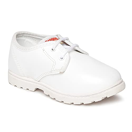80bfef6e0f1c PARAGON Kid s White School Shoes  Buy Online at Low Prices in India -  Amazon.in