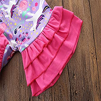 ONES Toddler Kid Girls Short Sleeve Blouse Shirt with Floral Ruffle Short 2PCS Outfits