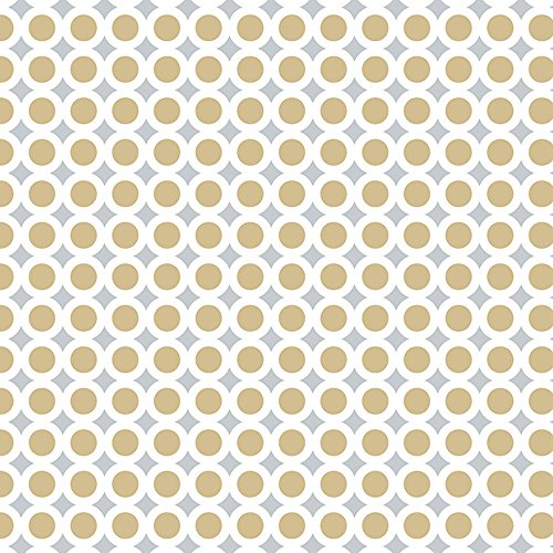 - Golden Wedding Anniversary Flat Gift Wrapping Paper - 24