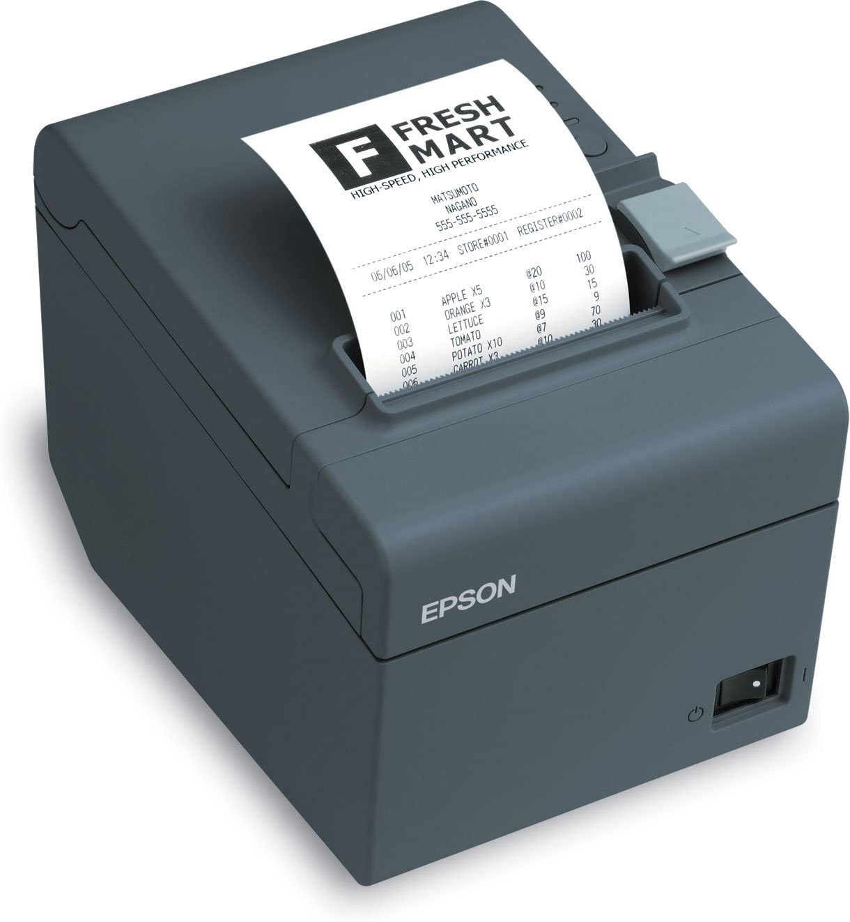 Amazon.com: Epson ReadyPrint T20 Direct Thermal Printer - Monochrome -  Desktop - Receipt Print (C31CB10021): Office Products
