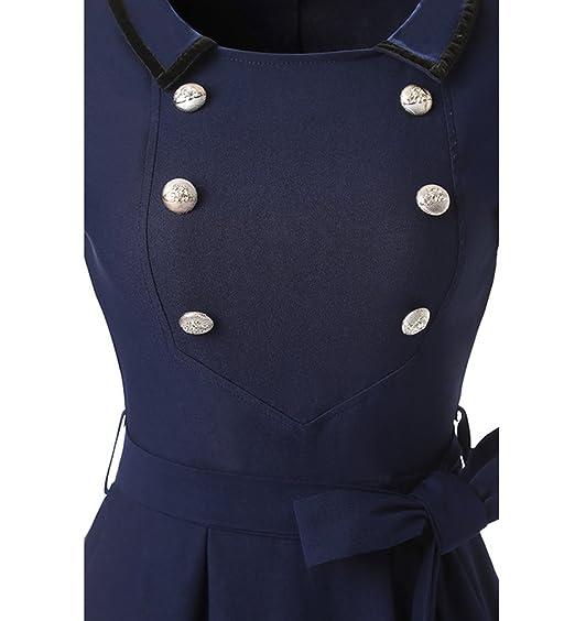Las mujeres Vestidos Largos Elegantes De Fiesta con Mangas Cortas vestido de fiesta de la noche vestido de novia XXL Armada: Amazon.es: Ropa y accesorios