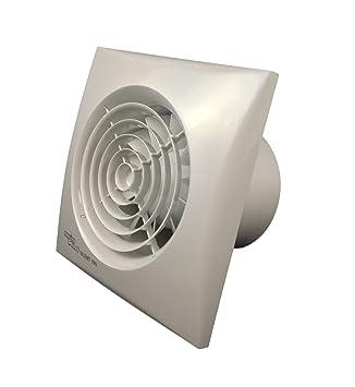 envirovent ventola di aspirazione silenziosa per bagni sil100t per condotti di 100 mm