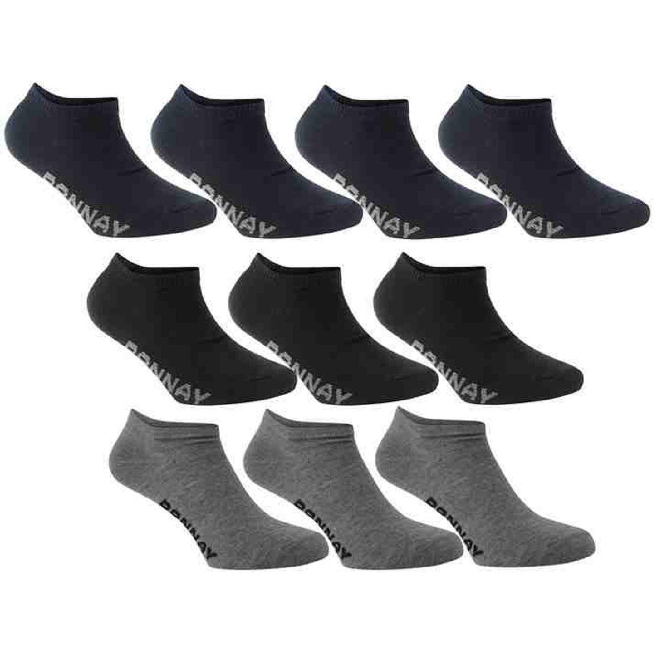 DONNAY 10 20 30 40 50 PAAR Sneakersocken 41 45 HerrenDamen