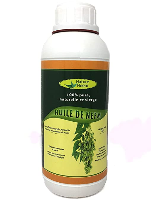 Aceite de Neem Puro, 1L -Insecticida Ecologico
