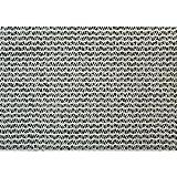 50% Shade Factor White Shade Cloth, 20'W x 50'L