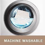 Wimaha XL Bathtub Mat, Bath Shower Mat Non Slip for Bathroom, Machine Washable, Ideal for Kids Toddler Senior, 39 x 16, Solid Beige