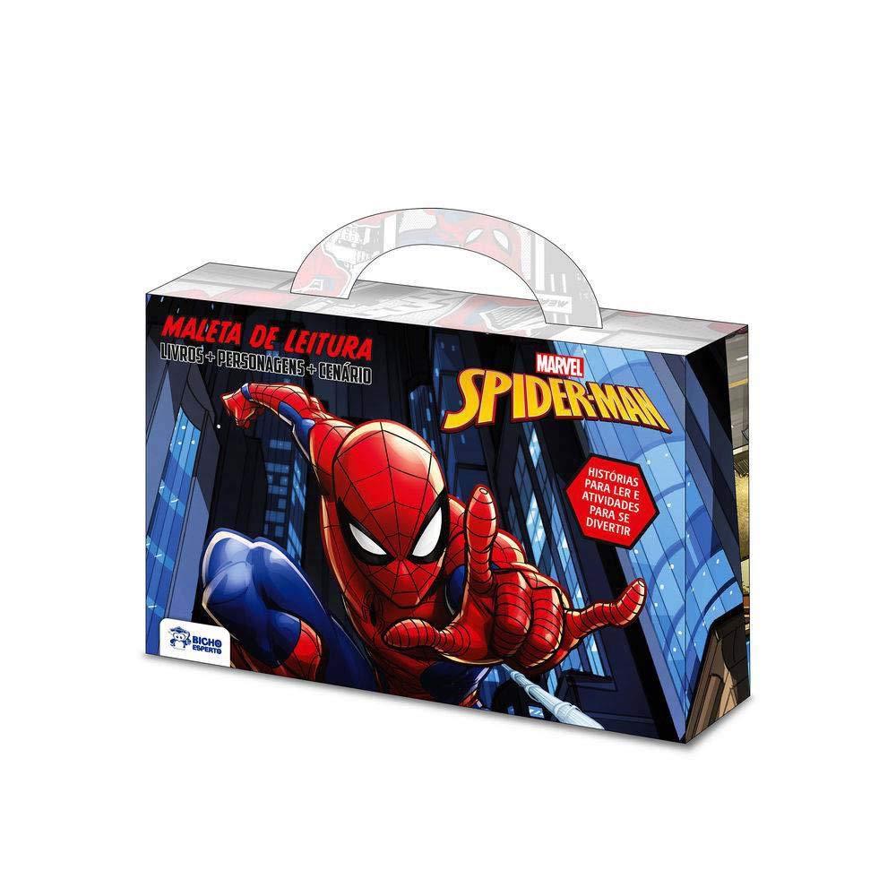 Marvel Maletinha Divertida Spiderman Homem Aranha Em Portugues