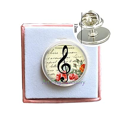 Amazoncom G Clef Brooch Music Brooch Music Jewelry Music