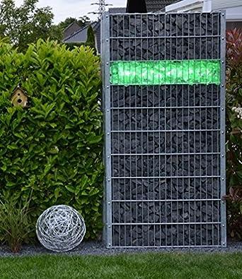Eclairage Led Pour Clotures Et Gabions 85 Cm Avec Angle D