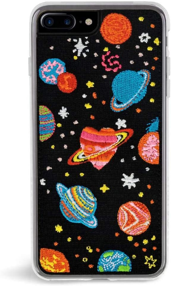 Zero Gravity iPhone 7 Plus / 8 Plus Cosmos Embroidered Phone Case - 360° Protection, Drop Test Approved - Multicolored