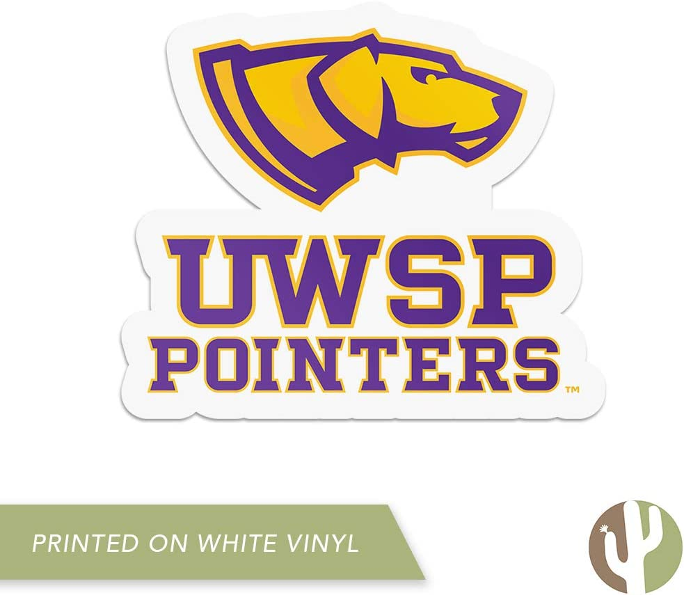 Sticker - 00035 University of Wisconsin Stevens Point UWSP Pointers NCAA Vinyl Decal Laptop Water Bottle Car Scrapbook