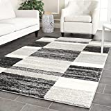 Safavieh Retro Collection RET2692-9079 Modern Abstract Black and Light Grey Area Rug (8′ x 10′) Review