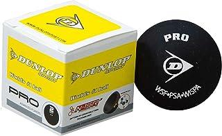 Dunlop Pro Squash Sport joueurs avancés Playnig Balle d'entraînement (pois 2 X jaune)