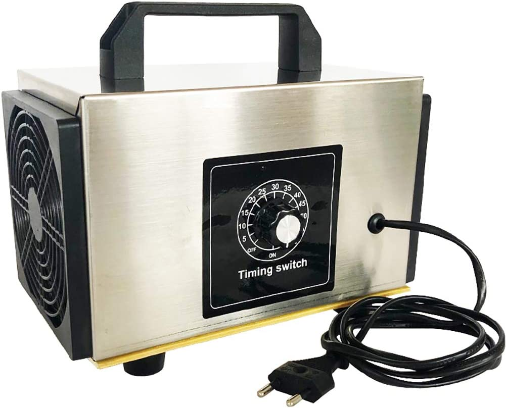 F-JX 10 g de ozono Generador Portátil, Purificador de Aire de la máquina, O3 Ozono para la desinfección esterilización de Limpieza formaldehído