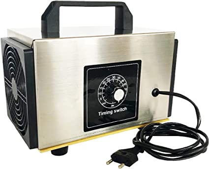 F-JX 10 g de ozono Generador Portátil, Purificador de Aire de la ...
