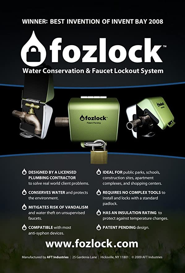 Amazon.com : Fozlock Outdoor Faucet Lockout System - Insulated ...