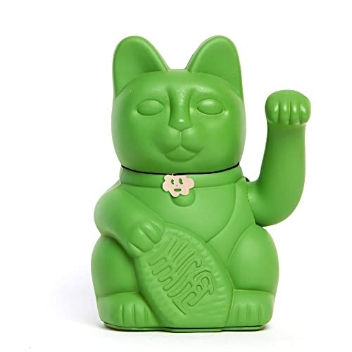 El clásico Gato de la Suerte o la Fortuna o Maneki-Neko en