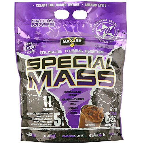 Special Mass Gainer | Rich Chocolate | Premium Lean Muscle Clean Bulk Powder (6-pound) Review