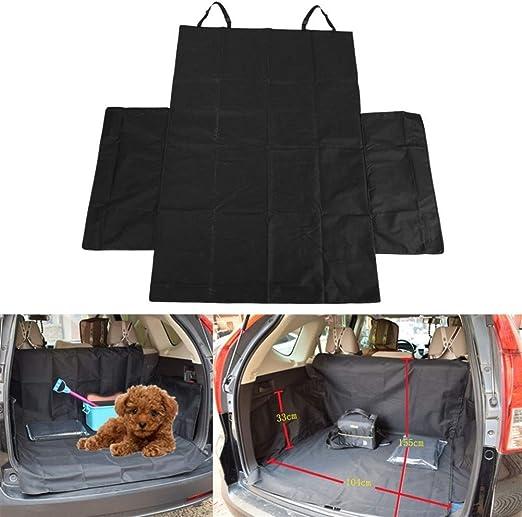 CUILAN Dog Carrier Oxford Fabric Paw Asiento De Coche Cubierta De Asiento De Coche Perro Impermeable Cama Hamaca Protector con Cinturón De Seguridad Bolsa De Viaje For Perro Grande: Amazon.es: Productos para