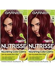 Garnier Hair Color Nutrisse Nourishing Creme, 56 Medium...