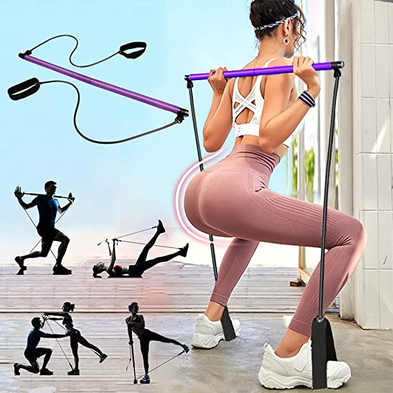 PLEASION Pilates Exercise Resistance Band
