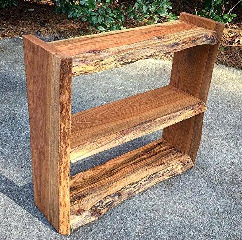 Excellent Amazon Com Live Edge Bookcase Raw Edge Bookcase Natural Interior Design Ideas Tzicisoteloinfo