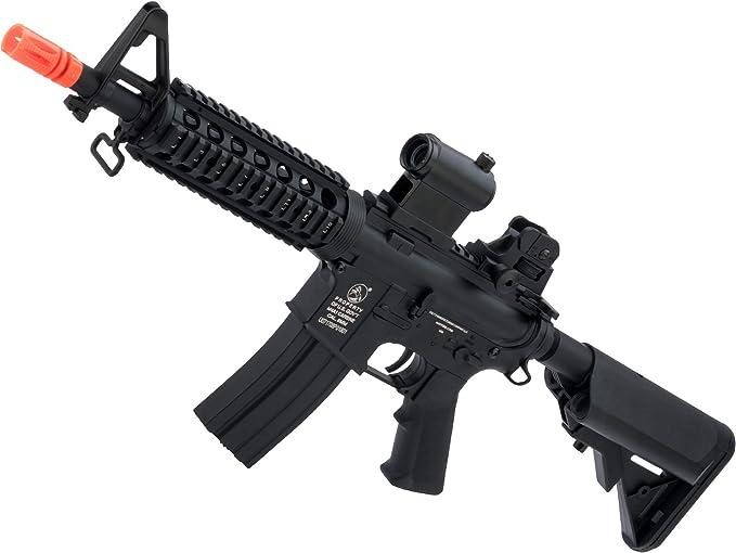 Soft Air COLT M4 CQB Automatic Electric Airsoft Gun Black