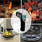 Etekcity Lasergrip 630 Dual Laser Non-contact Digital IR Infrared Thermometer Temperature Gun (Renewed)