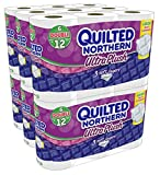 Quilted Northern Super Pack Ultra Plus Bath Tissue, New Mega Size Package 96 ((Double Rolls))