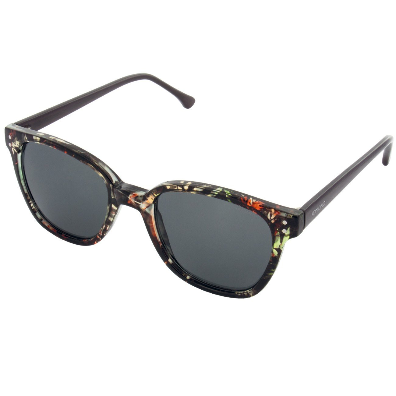 4a3c2b9ece Amazon.com  Komono Sunglasses Multi color Frame Grey Lens Sunglasses   Clothing