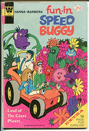 man-Speed Buggy-final issue-Whitman variant-Hanna-Barbera-G ()