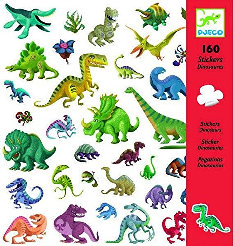 Pegatinas Dinosaurios Djeco DJ08843