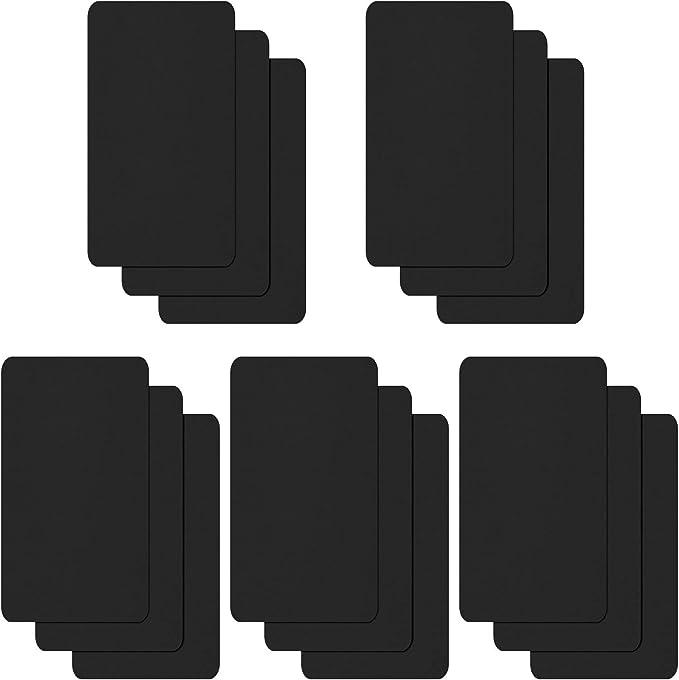 WILLBOND 15 Piezas de Parches de Reparación de Nylon Parche Autoadhesivo Nylon Parches de Reparación Impermeables Ligeros para Chaqueta de Plumón Reparación de Agujeros Desgarro (Negro): Amazon.es: Hogar