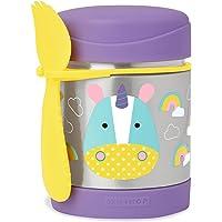 Skip Hop Baby Zoo Insulated Food Jar and Spork Set, Unicorn