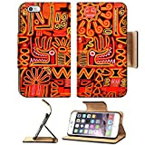 Liili Premium Apple iPhone 6 Plus iPhone 6S Plus Flip Pu Leather Wallet Case iPhone6 Plus Beautiful blanket with a typical Peruvian design Photo 5121126 Simple Snap Carrying