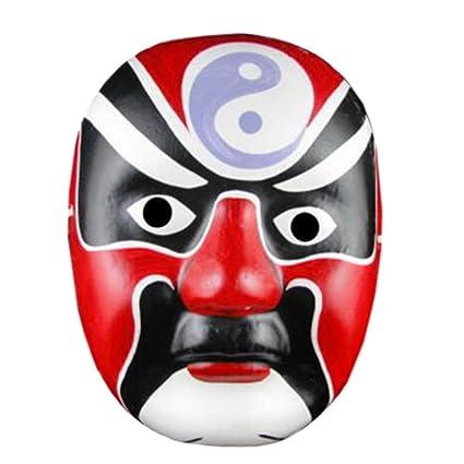 Alien Storehouse 2pcs máscara de la ópera de Pekín, máscara ...