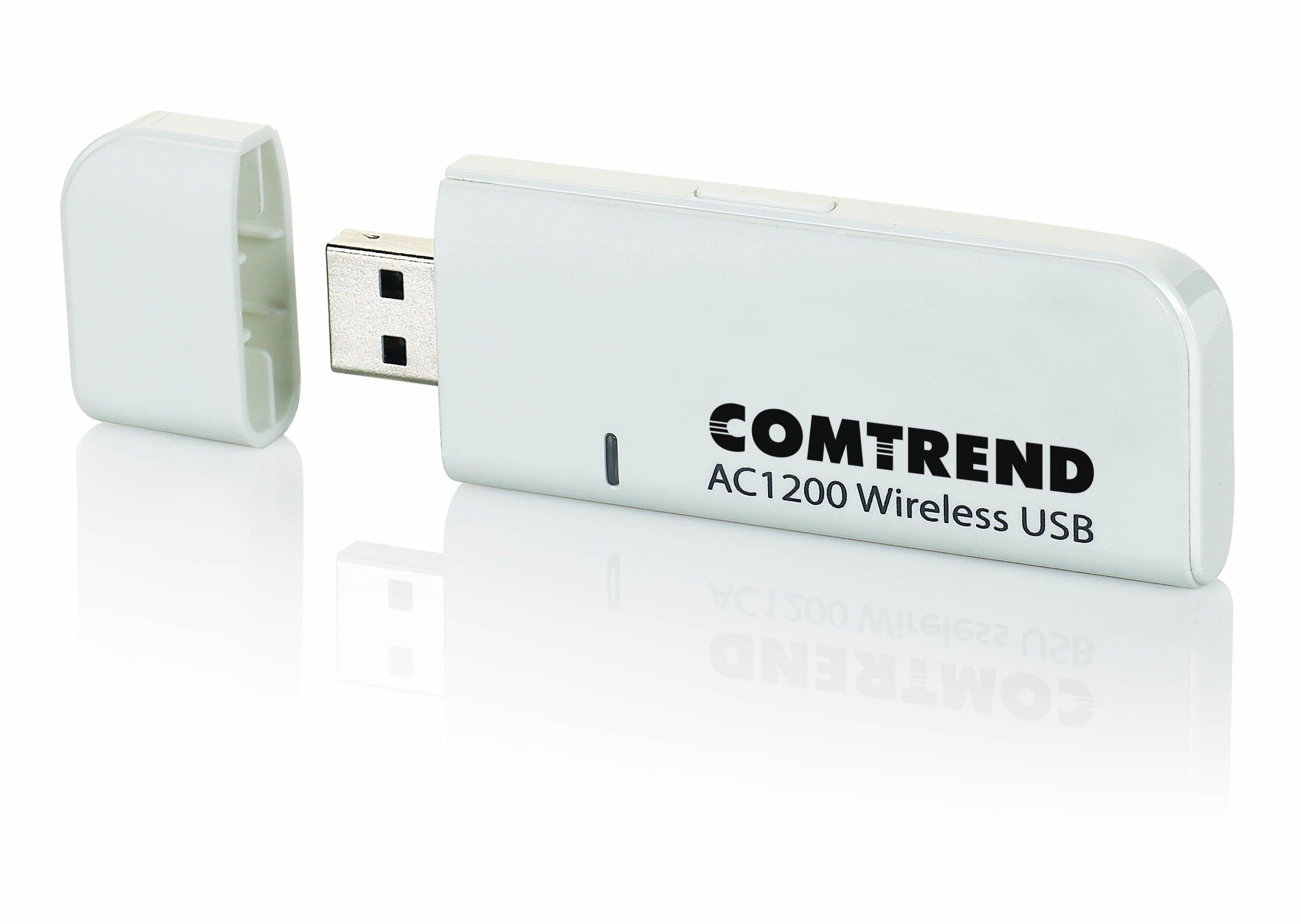 COMTREND WD-1030 Ac1200 Dual Band Wireless Usb 3.0 Adapter (Wd-1030), Next Generation Wi-Fi