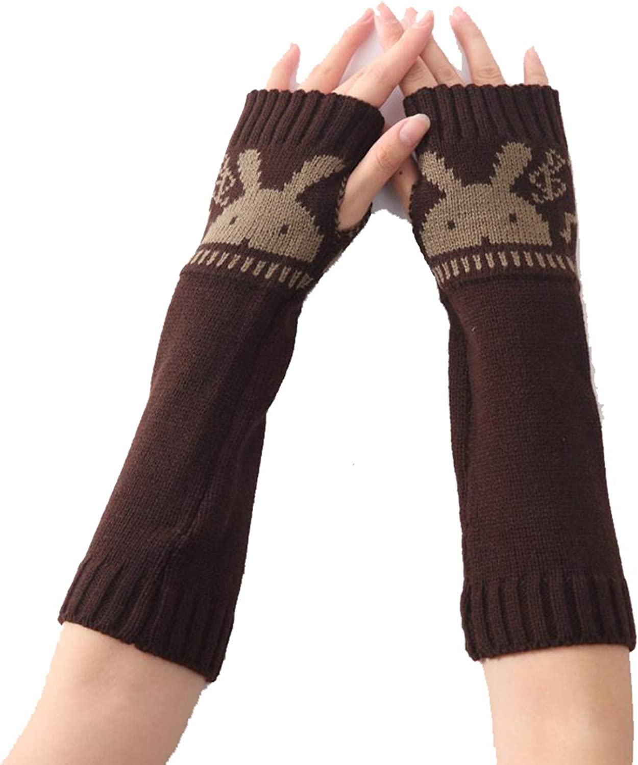 Women Knitted Arm Sleeve...