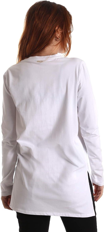 Liu-Jo T69132 J0088 T-Shirt Donna Bianco