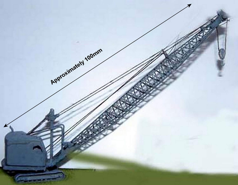 Langley Models 22-RB Dragline//Demolition Crane 55 on N Scale UNPAINTED Kit E31a