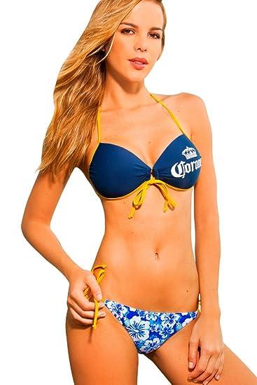 Corona Sexy Twist Bandeau Side Tie Bottom Bikini Set Meilleur Prix Prix Pas Cher Meilleur Endroit De Réduction Meilleur Prix La Vente En Ligne Offre Pas Cher Chaud À Prix Pas Cher KDVPr