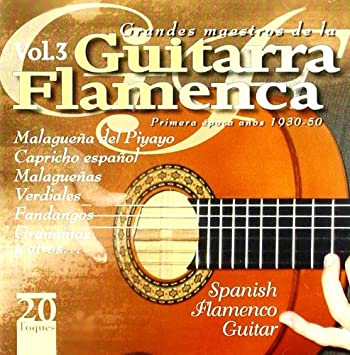 Grandes Maestros De La Guitarra Flamen.3: Various Artists: Amazon ...