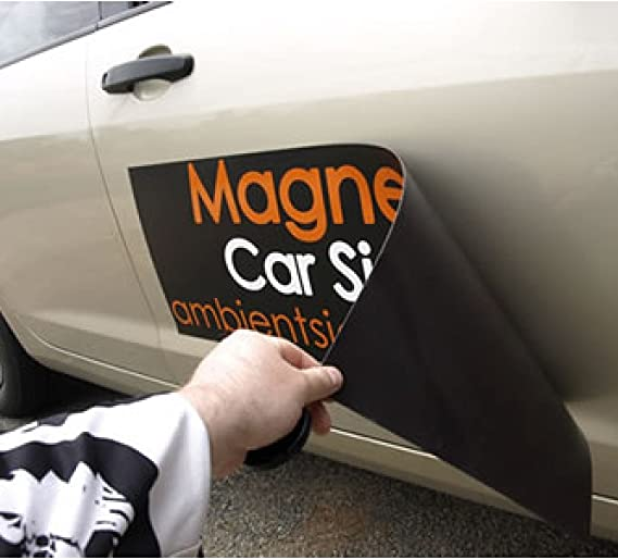 1 Pair of magnetic signs QUALITY with FREE DESIGN van car personalised laminated