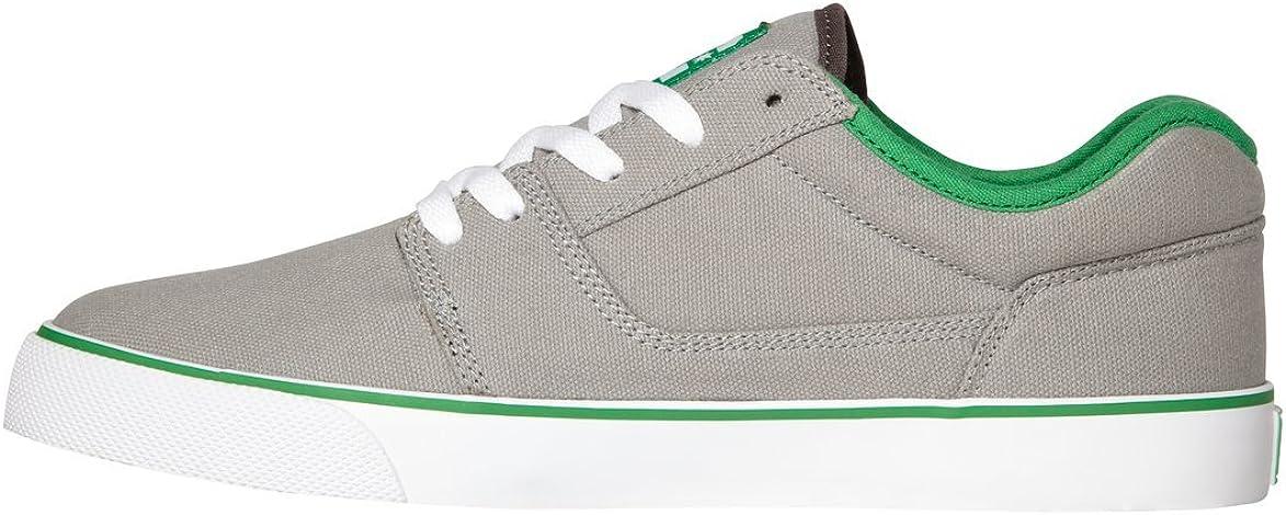 DC Men's Tonik TX Sneaker Grey/Green