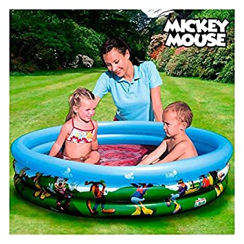 Piscina Hinchable Mickey Mouse Club House: Amazon.es ...