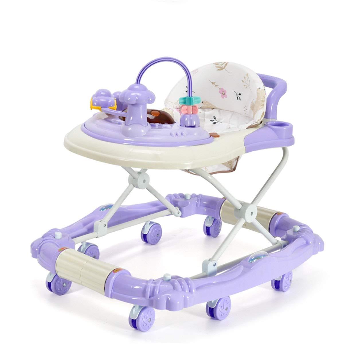 LZ Bebé niño Andador multifunción antivuelco Empuje de Mano ...