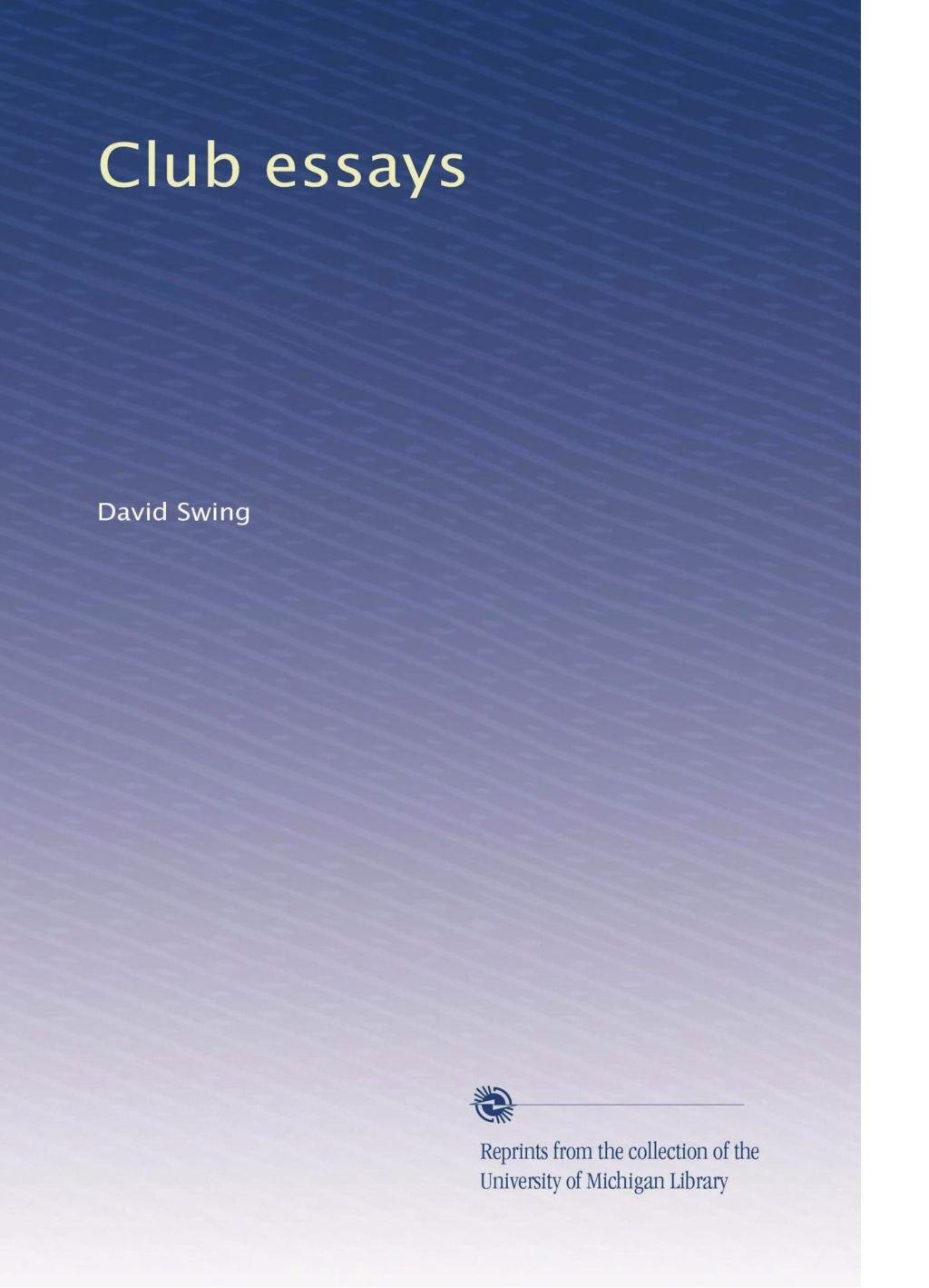 Download Club essays pdf
